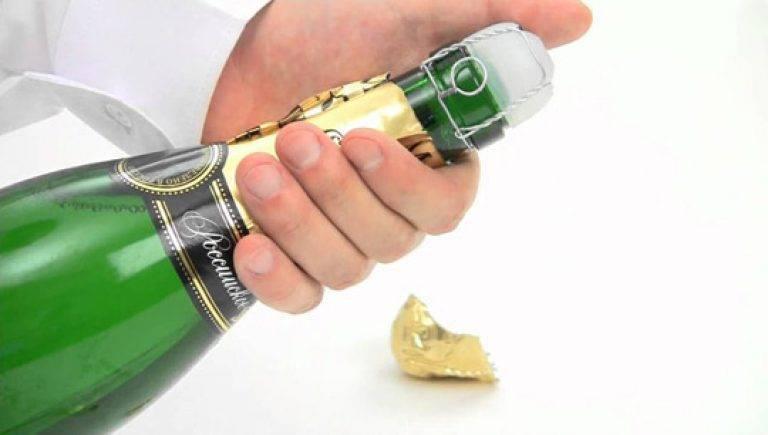 Как открыть шампанское? – как правильно пить