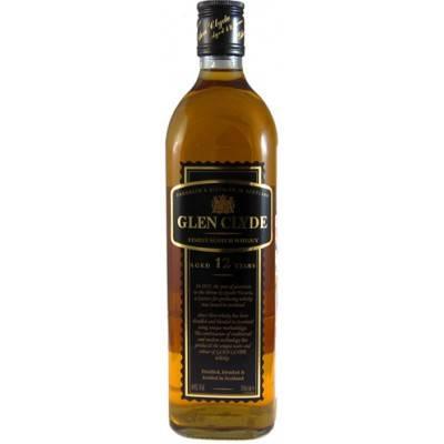 Виски «glen clyde» 12 years old, with a pouring stand, gift box, 4.5 л — «глен клайд» 12 лет, в подарочной коробке (на качелях), 4.5 литра