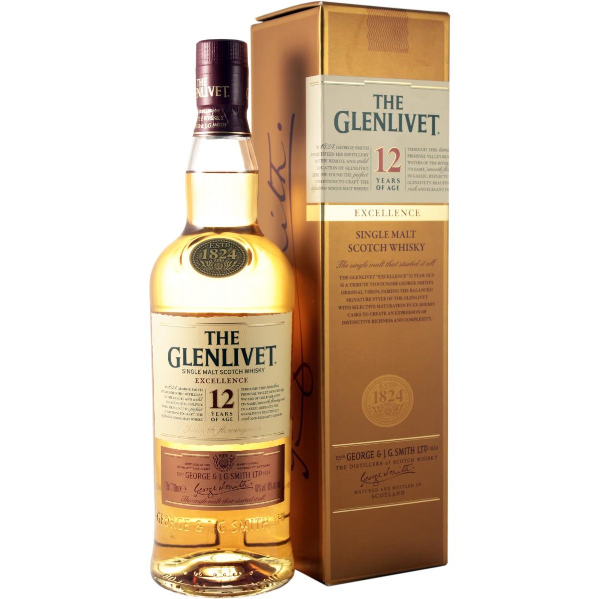 Обзор виски Glenlivet (Гленливет), 18 лет