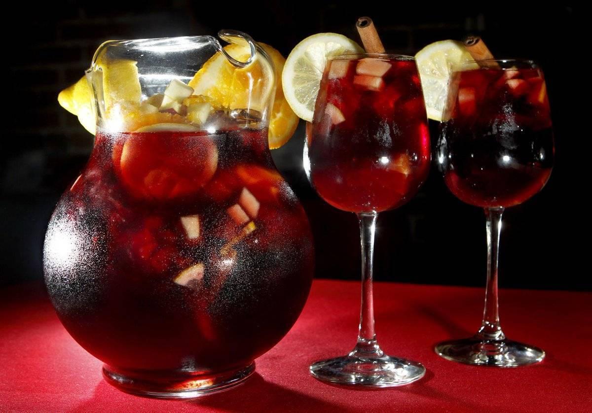 Классический рецепт сангрии из красного вина — классическая сангрия на красном вине в домашних условиях