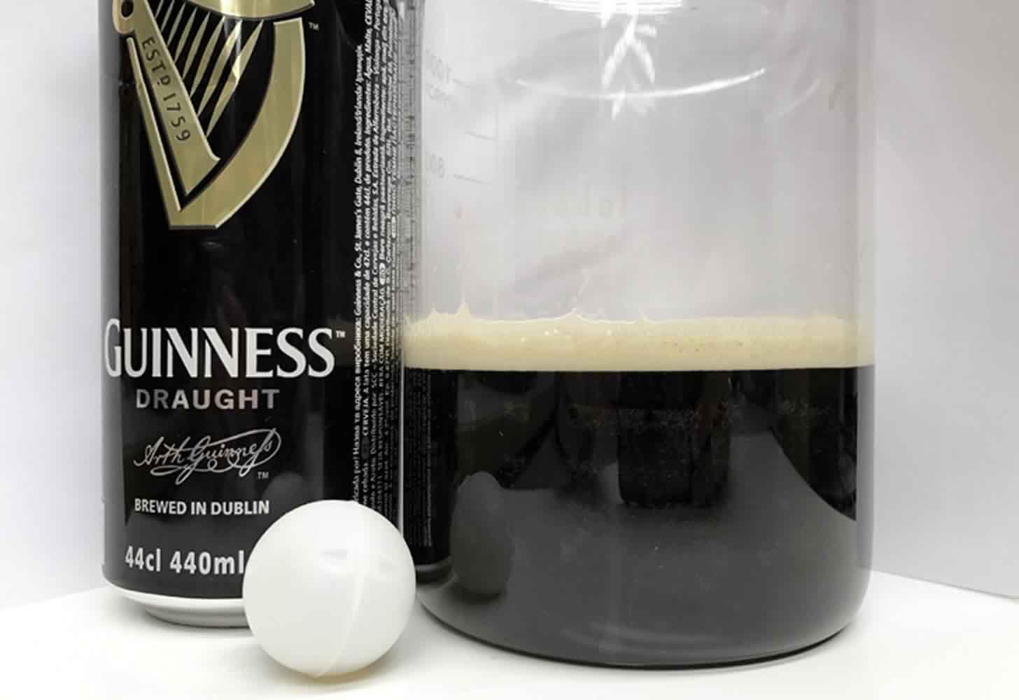? пиво guinness с азотной капсулой - зачем она нужна