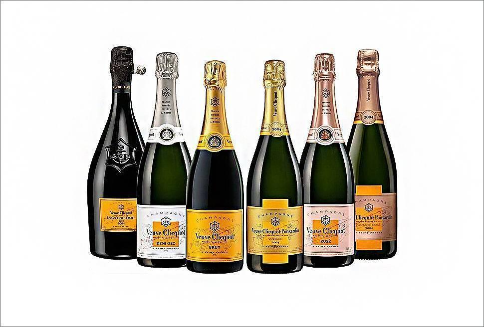 Шампанское вдова клико: история, виды, коллекции напитка