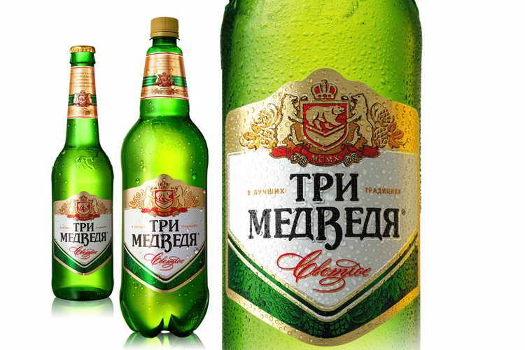 Обзор пива россии: три медведя, клинское, жигулевское
