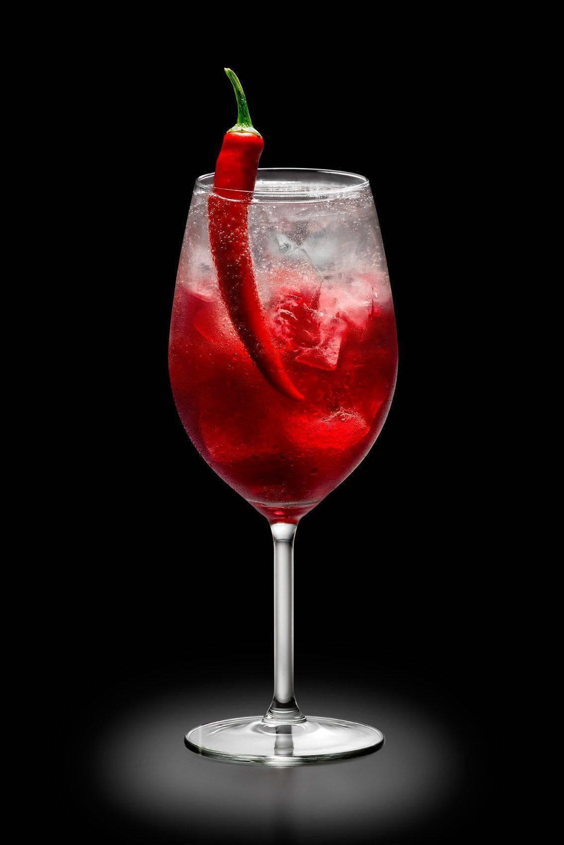 Коктейли с вином красным и белым: рецепты - рецепты