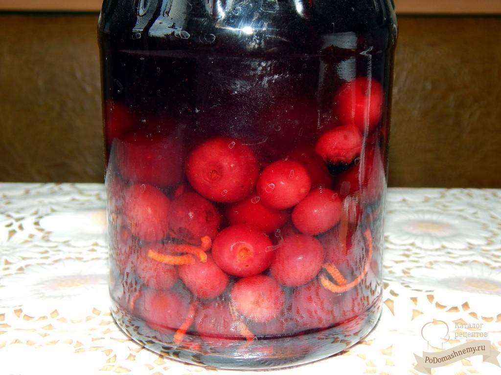 Ароматный вишневый самогон