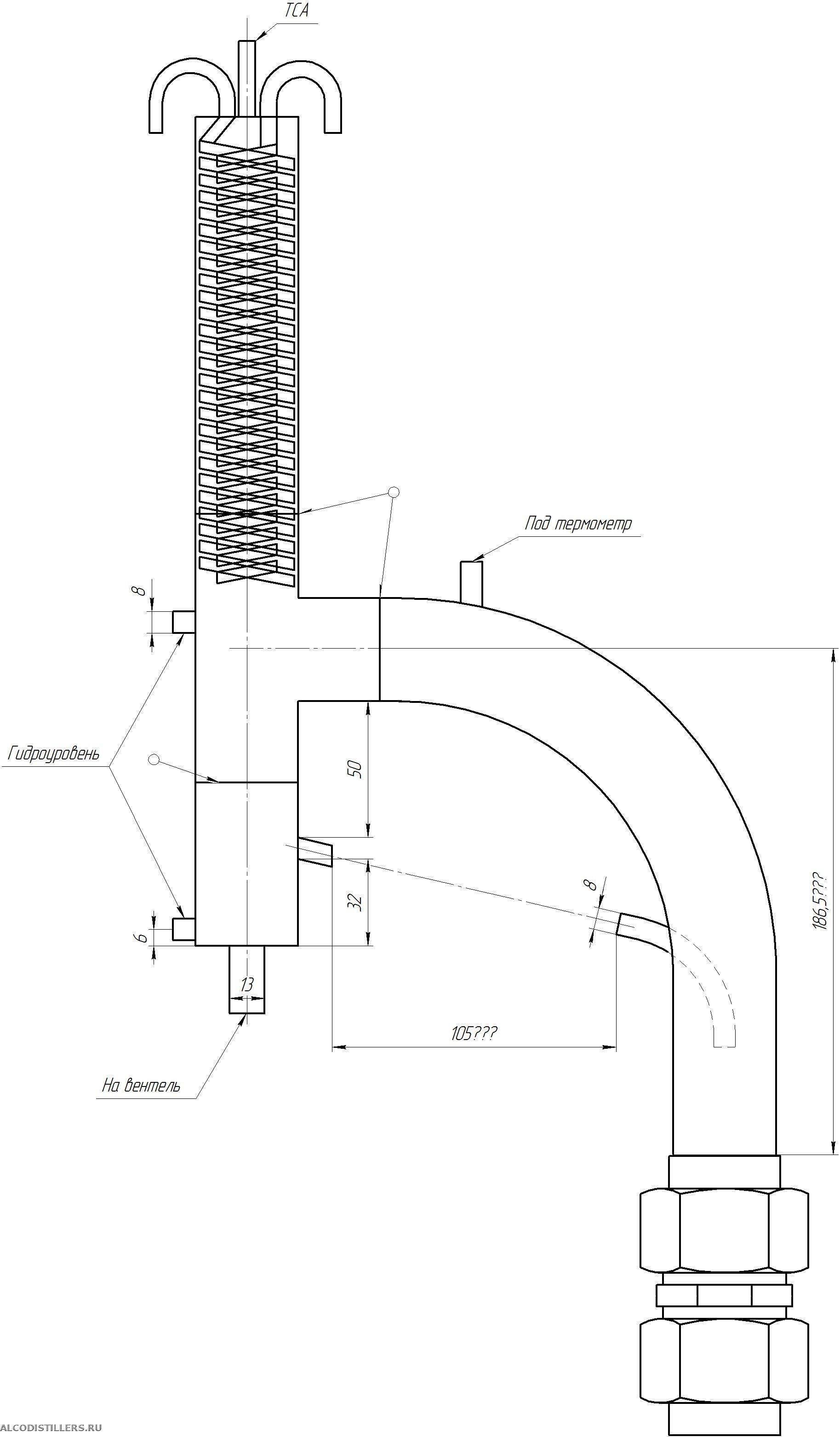 Как сделать ректификационную колонну своими руками по чертежам с размерами