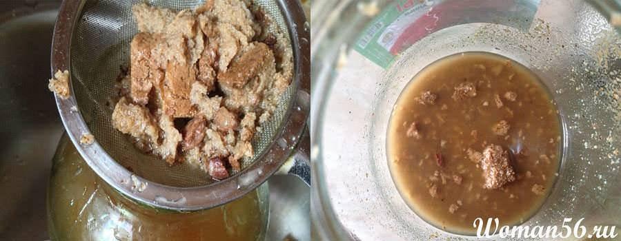Обычный квас на квасном сусле – кулинарный рецепт