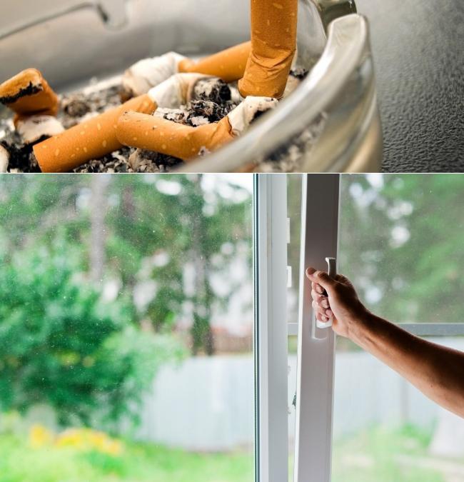 Как избавиться от запаха сигарет в квартире: способы быстрого удаления