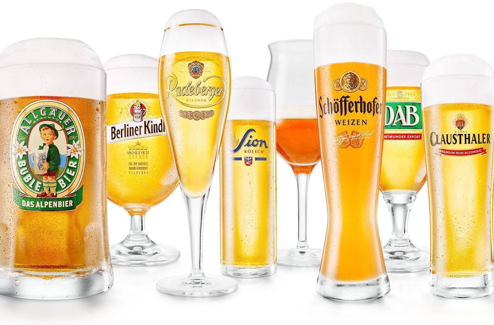 Напитки германии: от смузи до егермейстера