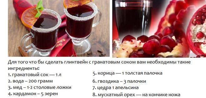 Безалкогольный глинтвейн - рецепт приготовления в домашних условиях