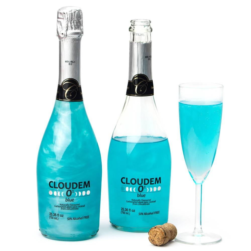 Голубое шампанское - просто сказка!