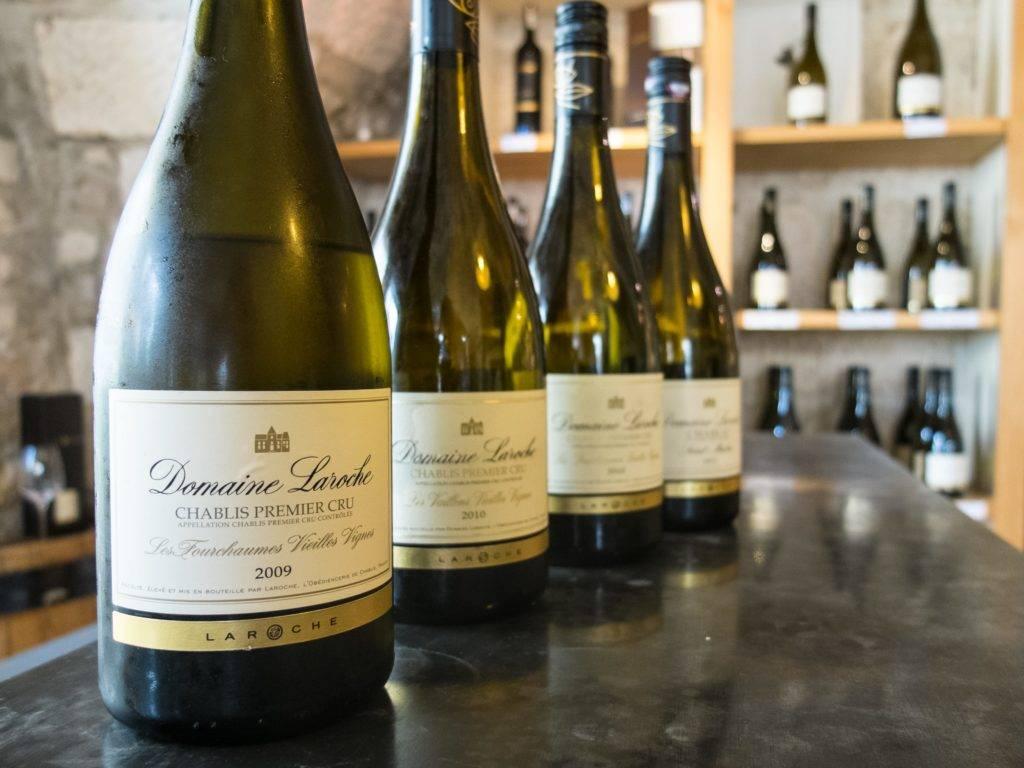 Вина шабли — классификация вин и винодельческих регионов шабли, франция