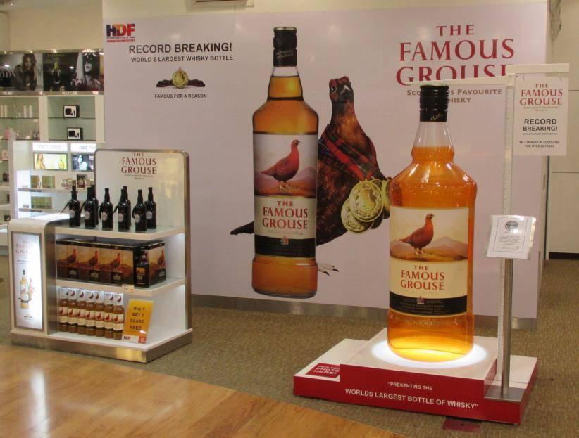 Виски famous grouse (фэймос граус) – описание и виды марки
