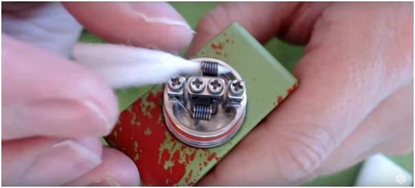 Вата для электронной сигареты. какую вату использовать для вейпа?