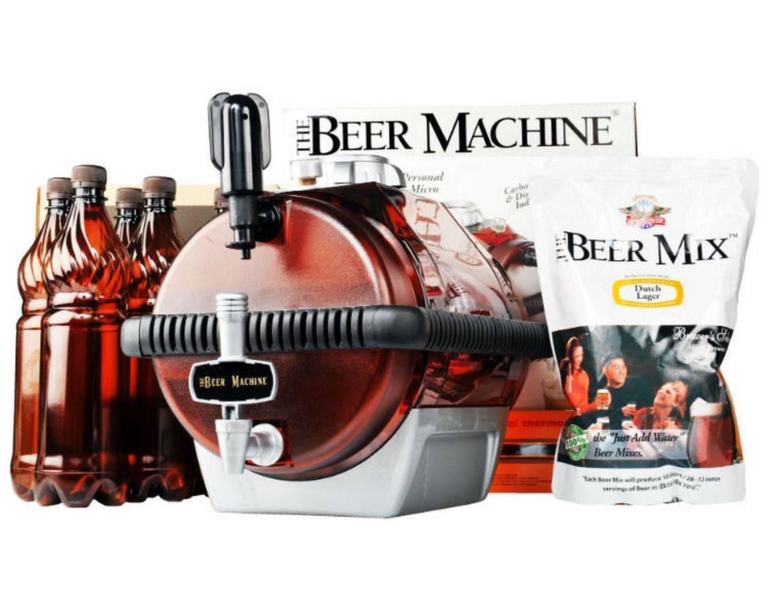 Домашняя пивоварня beermachine: встречайте лето с пивной бочкой!