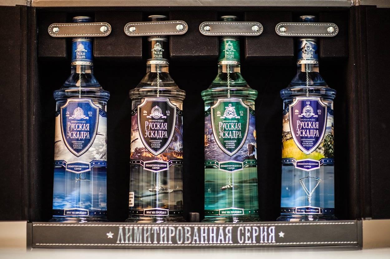 Водка русская эскадра: история и характеристики марки