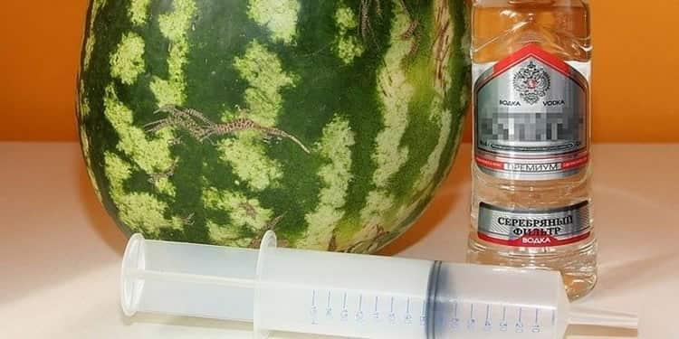 Водка в арбузе: что это такое