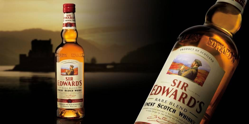Виски sir edwards (сир эдвардс): описание, отзывы, стоимость