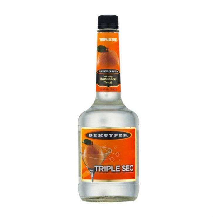 Трипл сек (triple sec) - как и с чем правильно пить ликер?