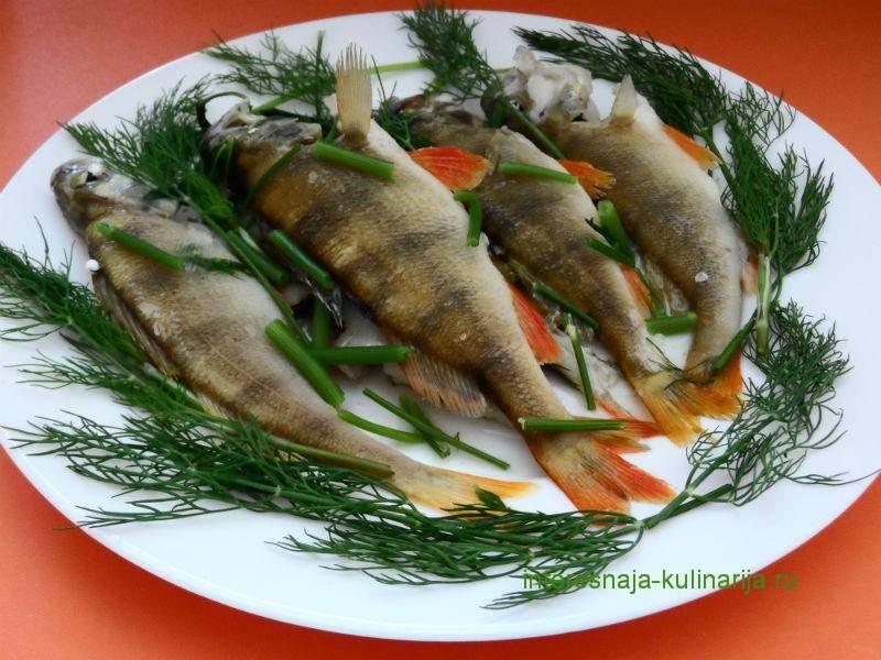 Рецепты блюд из ерша — рецепты блюд из рыбы. заморить червячка