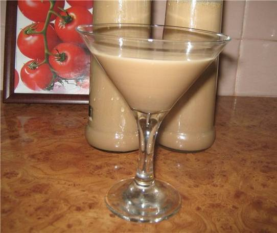 Бейлиз из сгущенки и кофе - простые пошаговые рецепты с фотографиями