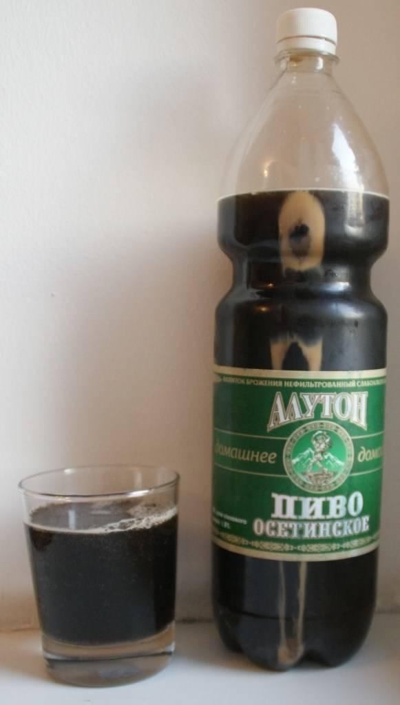 Приготовление осетинского пива