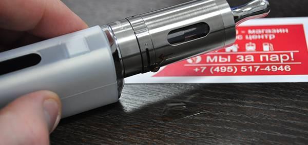Почему хлюпает электронная сигарета