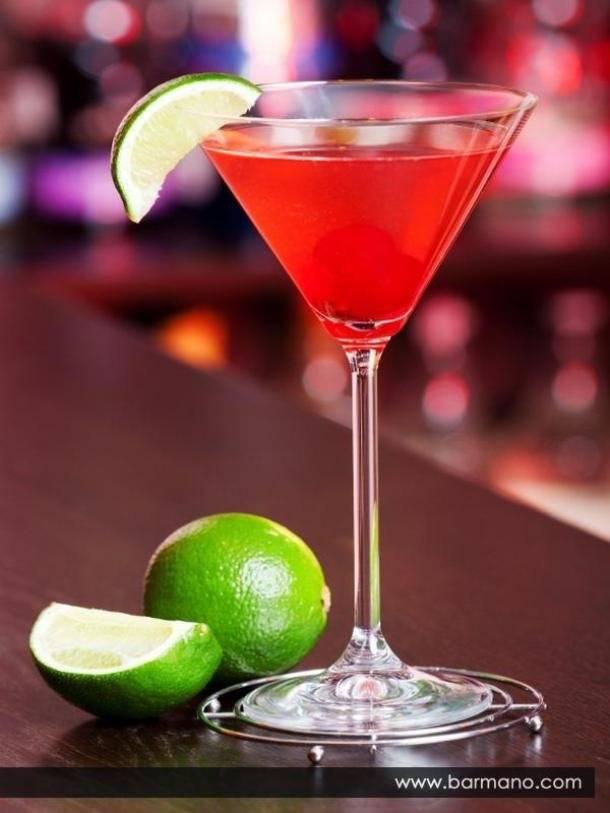 Коктейль «космополитен»: классический и безалкогольный рецепт