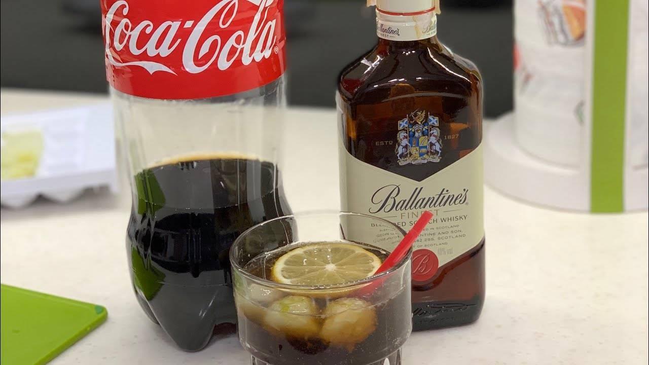 Виски с колой – самый популярный коктейль в россии