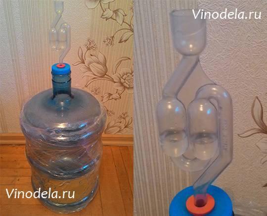 Делаем гидрозатвор для брожения своими руками как сделать самому - самогон своими руками