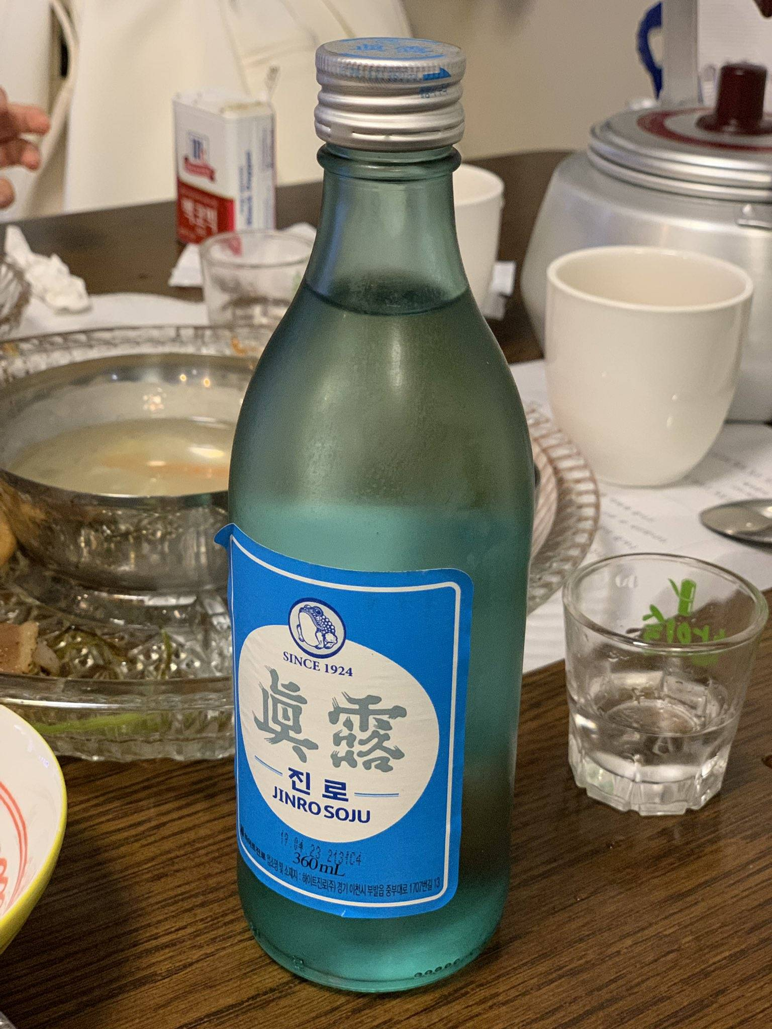 Обзор корейской водки соджу