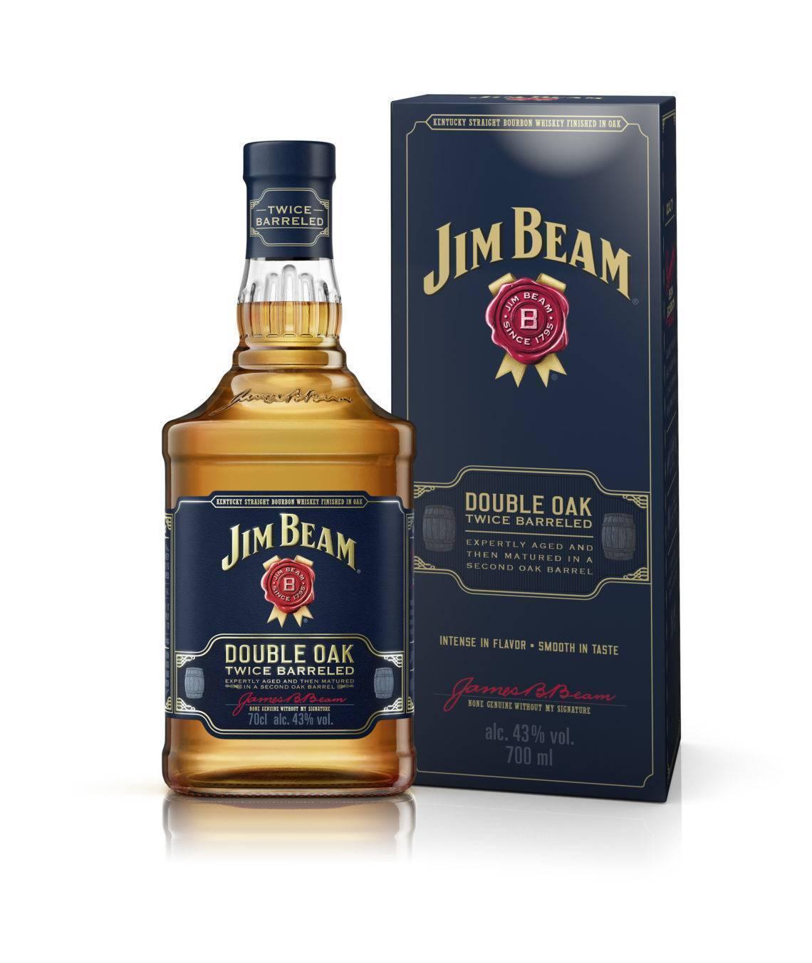 Jim-beam-double-oak обзор виски, дегустационные характеристики