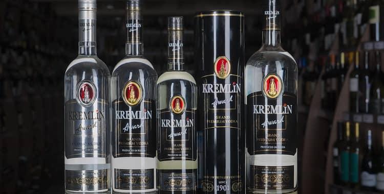 Обзор водки Кремлин