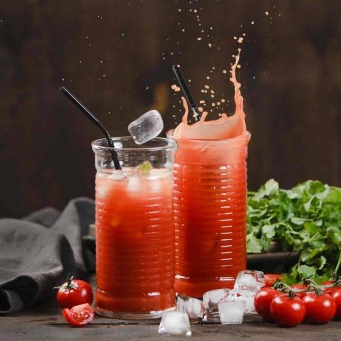 Коктейль кровавая мэри- алкогольный и безалкогольный рецепты