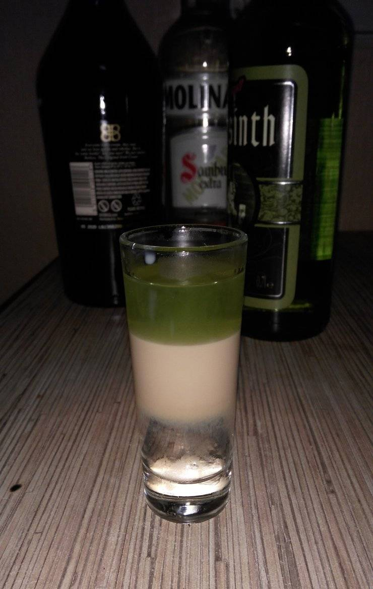 Состав и рецепт коктейля хиросима