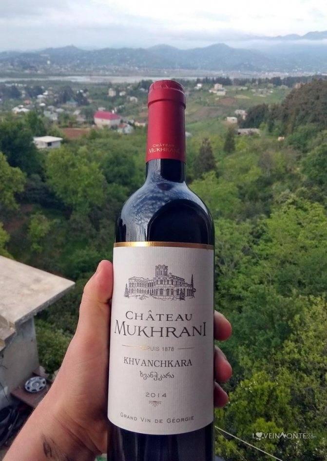 Обзор красного сухого грузинского вина мукузани