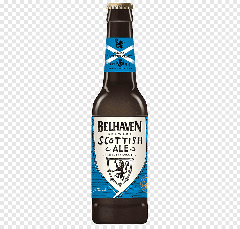 Два крафтовых эля от belhaven: scottish oat stout и speyside oak aged blonde ale