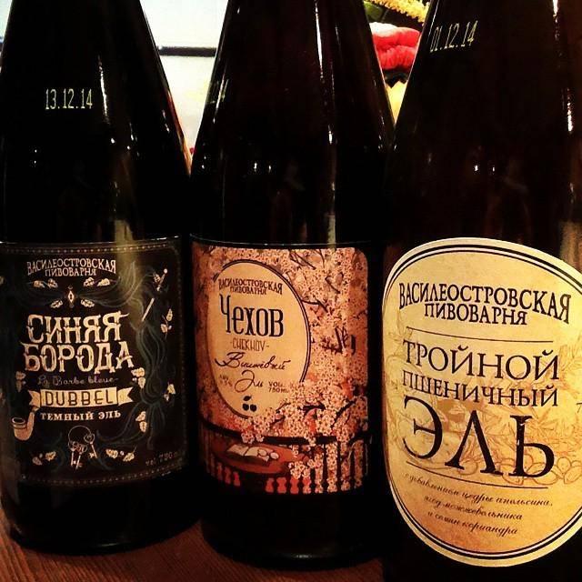 «василеостровская пивоварня» - питерское предприятие нового типа