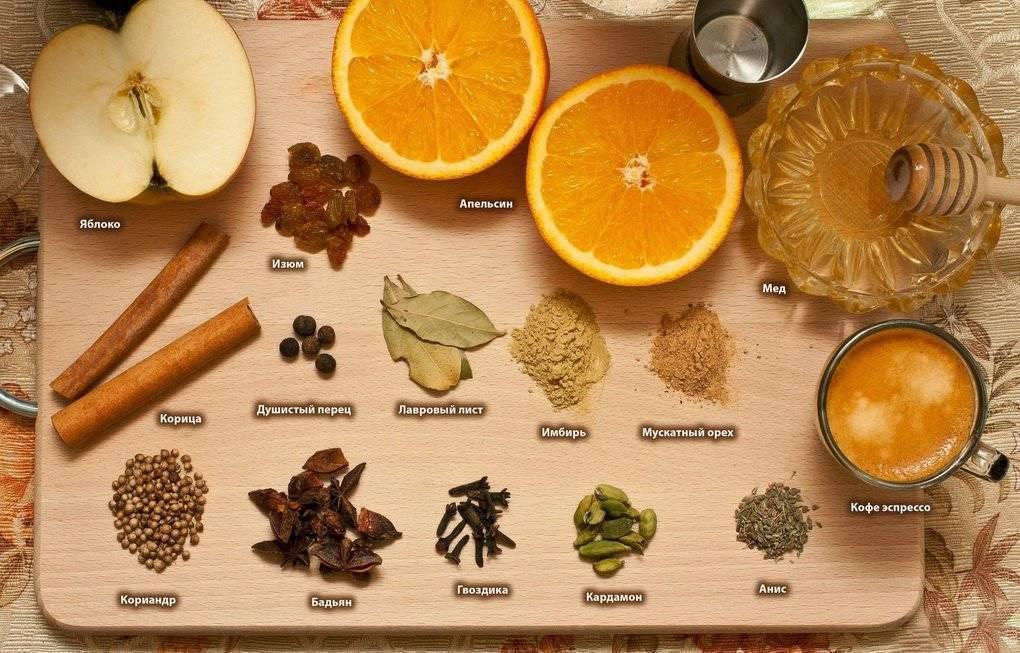 Специи для глинтвейна: искусство создания вкуса