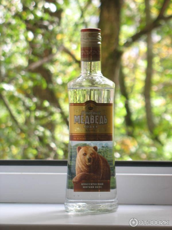 Водка медведь: история, обзор видов + интересные факты