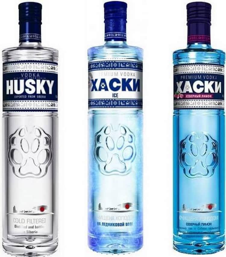Водка хаски (husky): описание, история и виды марки