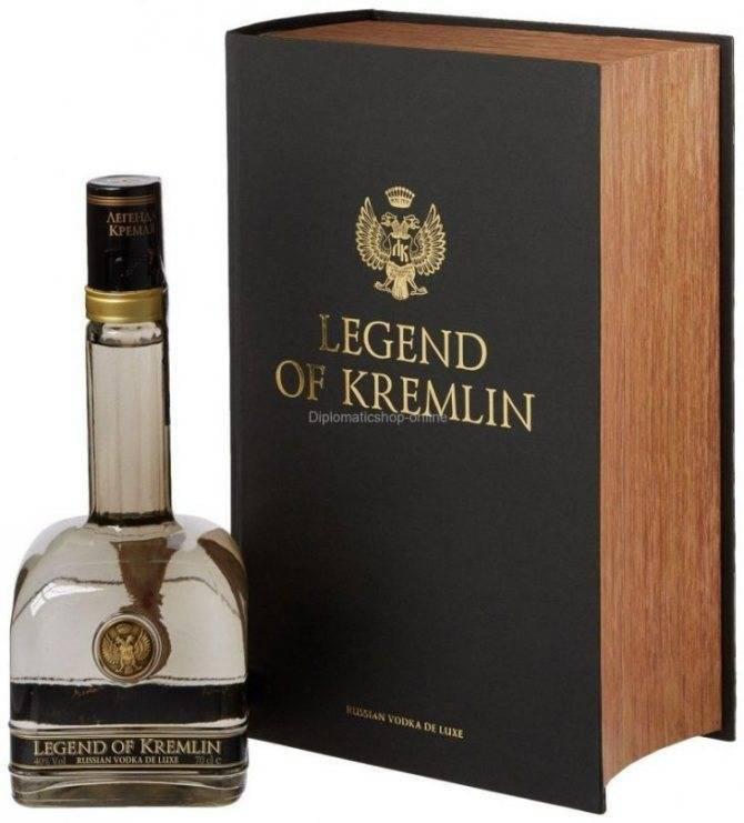 Водка легенда кремля (legend of kremlin) — характеристика, отзывы, стоимость
