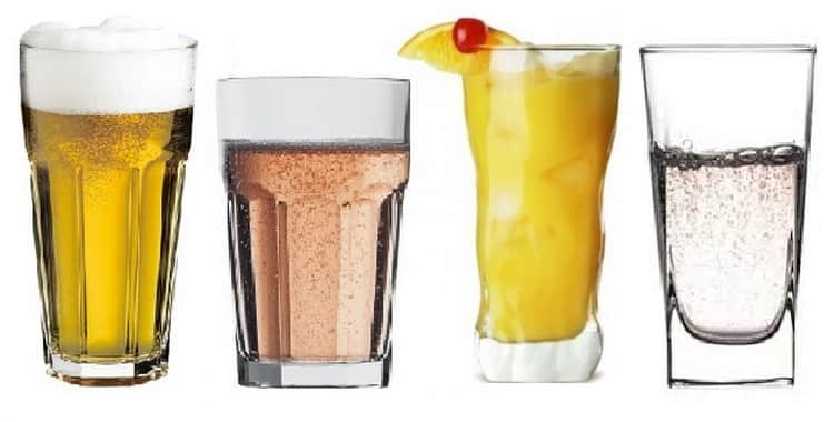 Какие стаканы хайболл лучше выбрать для охлажденных коктейлей и горячих напитков