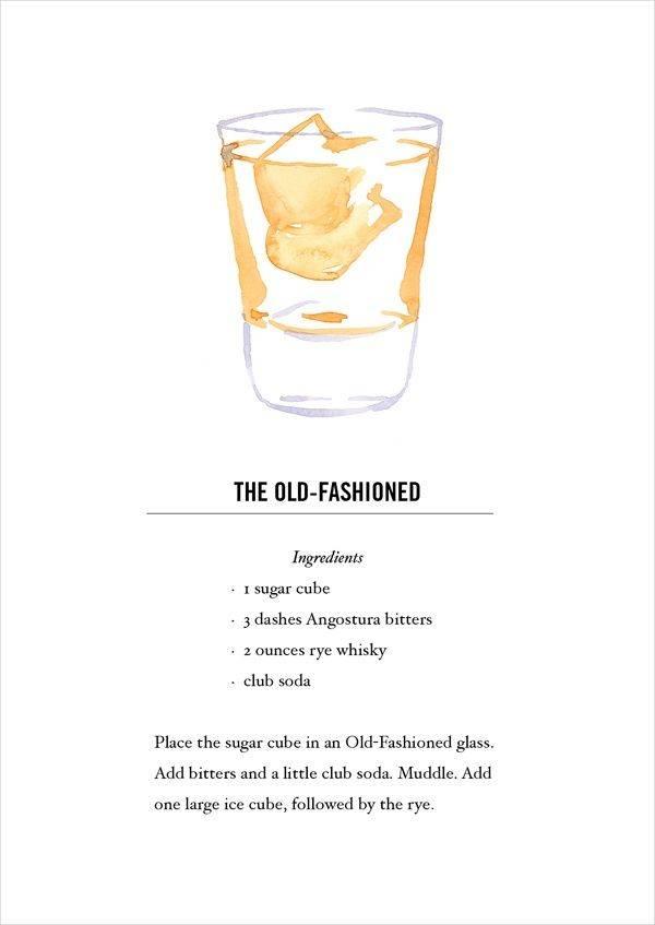 Рецепт коктейля олд фэшн