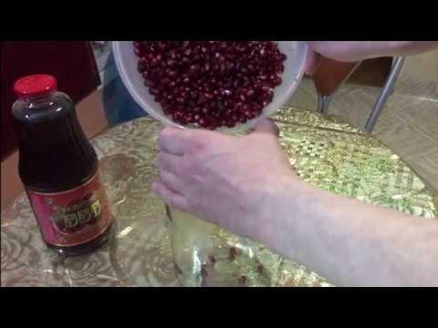 Гранатовая настойка — 11 замечательных домашних рецептов