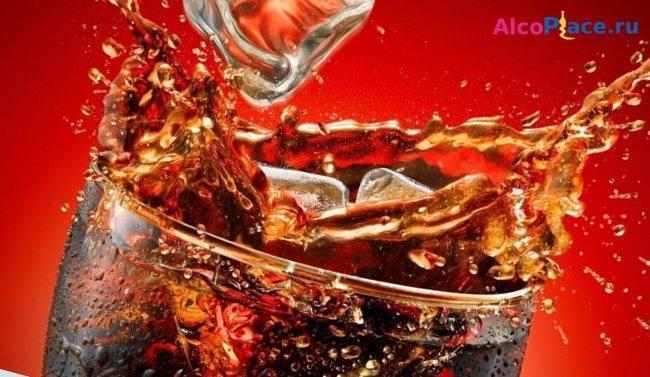 Кола с коньяком пропорции   wine & water