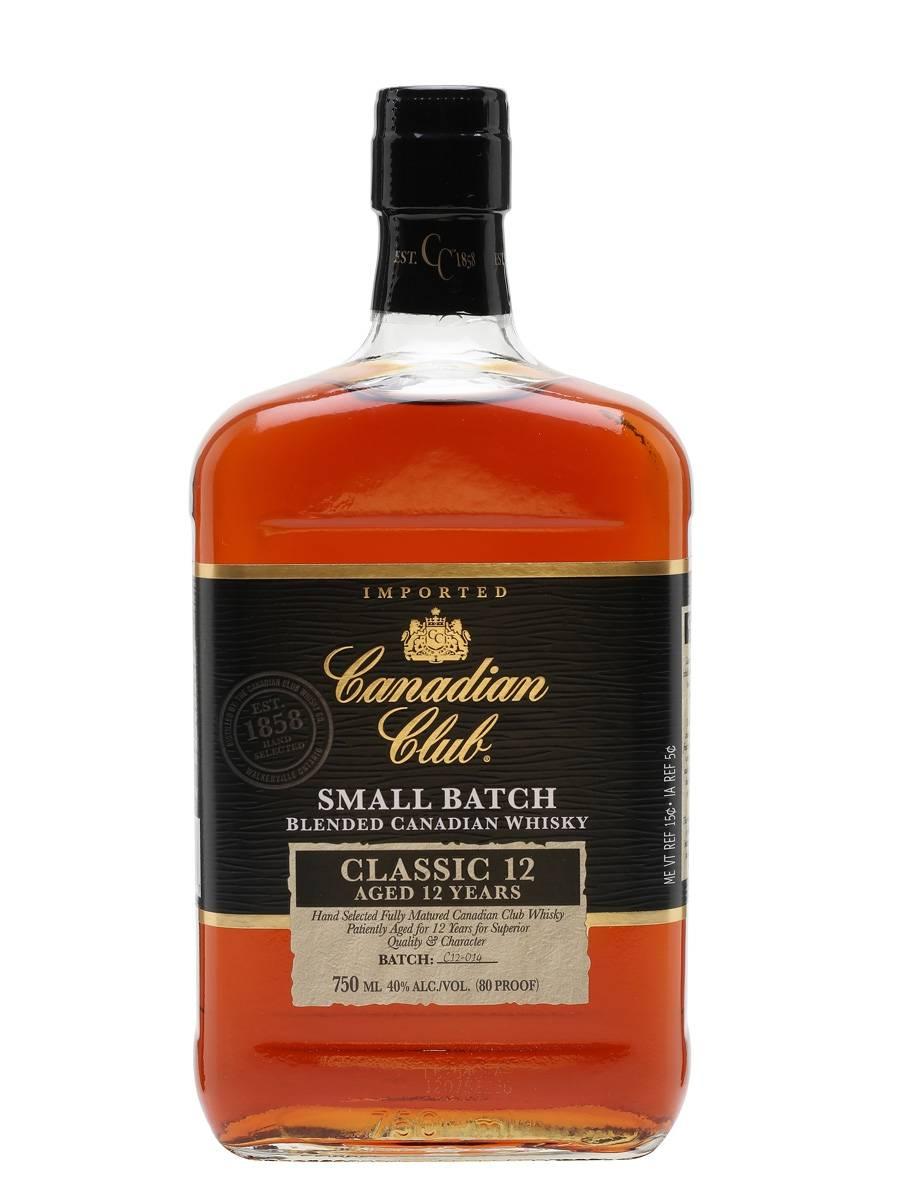 Виски canadian club: популярные бленды родом из канады