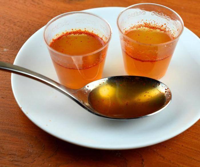 Водка с перцем и мёдом от простуды