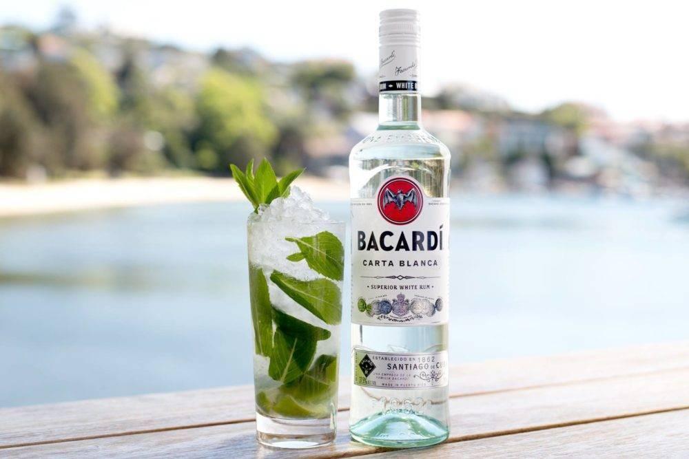 Бакарди: с чем и как пьют белый и черный ром? - лечим сами