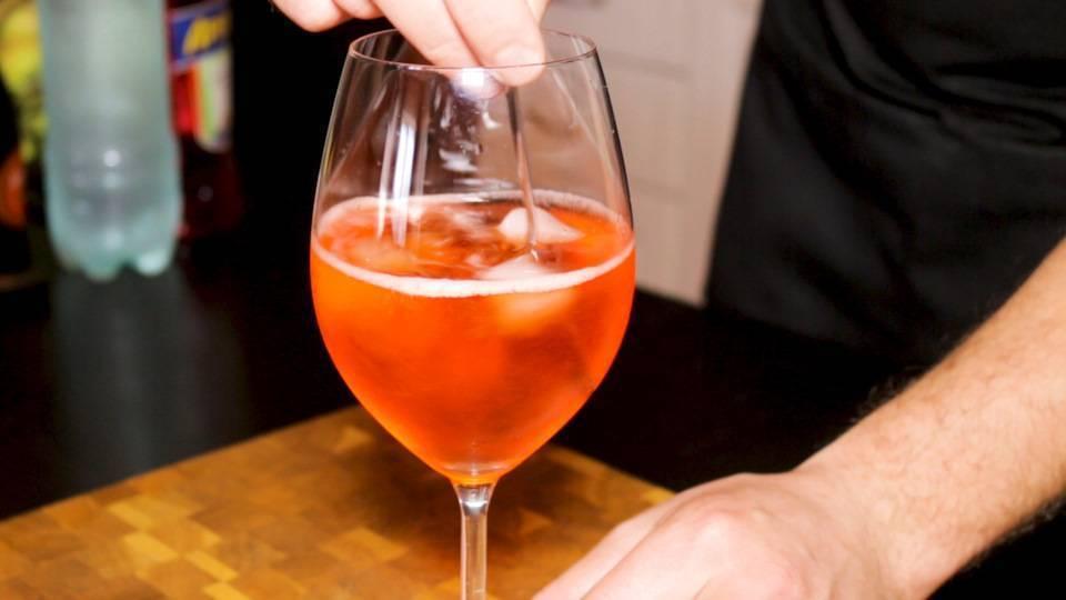 Рецепт приготовления коктейля «апероль шприц» в домашних условиях
